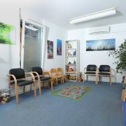 Therapieräume, Ergotherapie, Wartezimmer