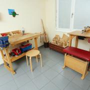 Therapieräume, Ergotherapie, Kinder Spielecke